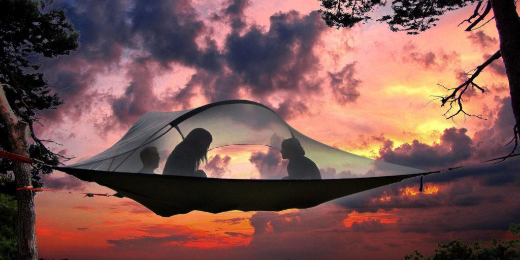 Tensile teltta