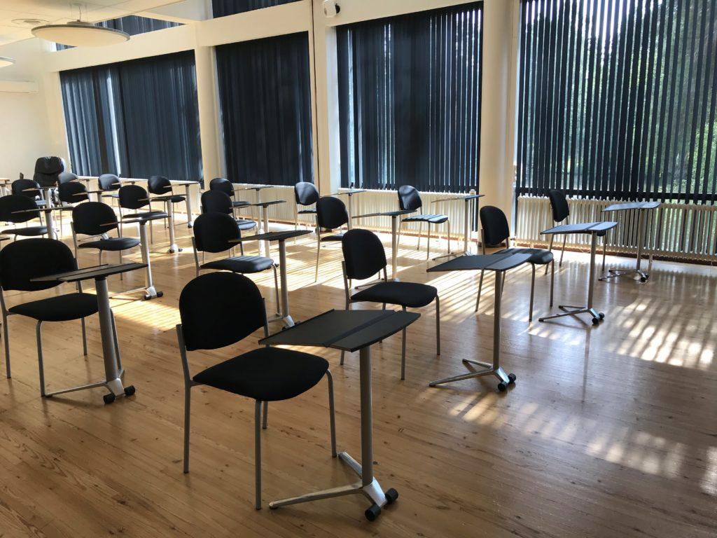 Turvalliset ja väljät kokoustilat Petäys Resortissa.