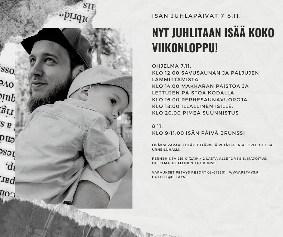 Isän Juhlapäivät 7-8.11.20